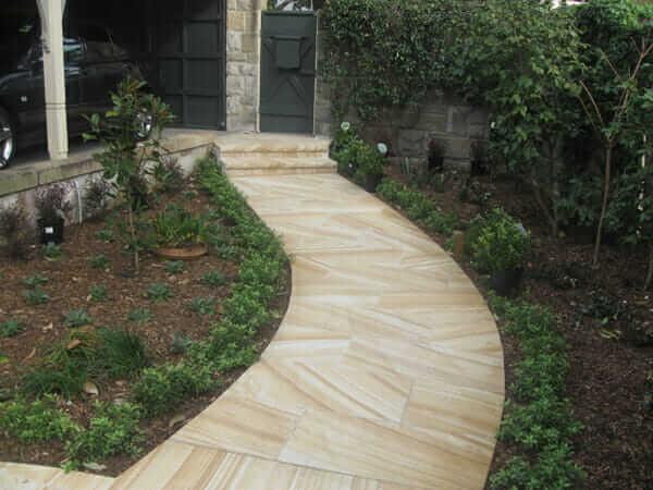 sandstone pavement