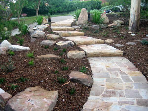 sandstone flagging