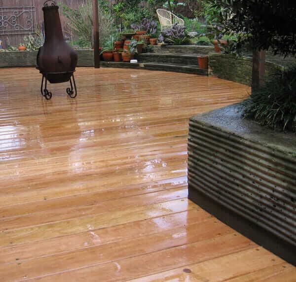 timber pavement